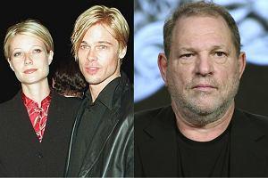 Gwyneth Paltrow i Brad Pitt / Harvey Weinstein