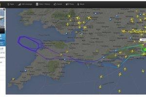 Boeing linii Virgin Atlantic mia� problemy z podwoziem. Samolot zawr�cono na lotnisko pod Londynem
