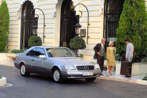 Klasyczne Mercedesy na targach Auto Nostalgia