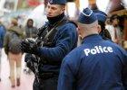 Belgijska policja w Brukseli