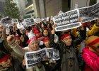Zn�cali si� nad pomoc� domow�. Wielotysi�czny protest w Hongkongu