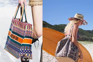 facdc35ca64b7 Torba plażowa - niezbędny dodatek na lato. Stylowe modele, które możesz  nosić również po