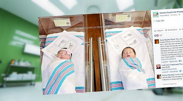 W jednym z amerykańskich szpitali niemal w tym samym czasie urodzili się Romeo i Julia