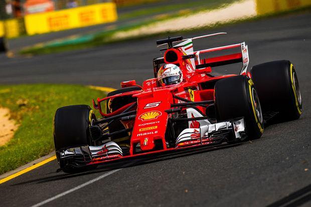 Bolid Ferrari 2017