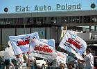 Pracownicy fabryki Fiata protestuj�. Po w�osku