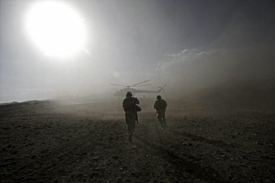 Wojsko sił NATO w Afganistanie - zdjęcie ilustracyjne