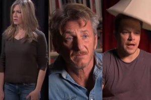 Jennifer Aniston, Sean Penn i Matt Damon