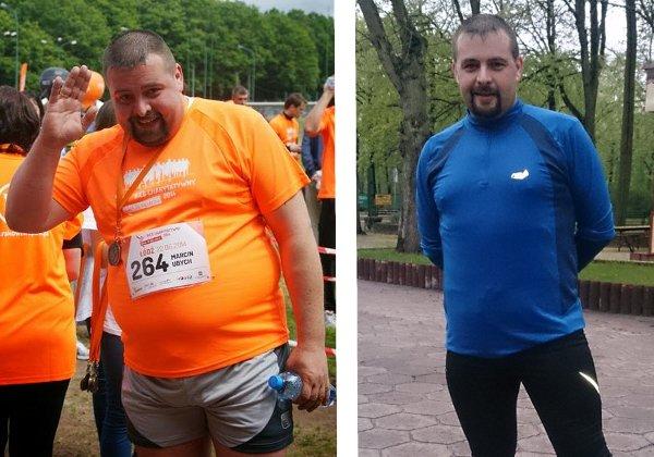 Od 135 kg do maratonu w Poznaniu. Historia Marcina