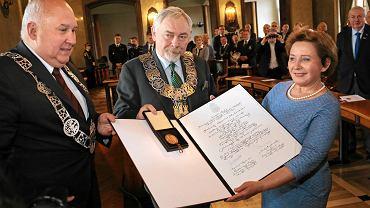 Brązowy Medal Cracoviae Merenti dla przedstawicieli Studenckiego Komitetu Solidarności