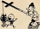 """Walka bolszewików z bożonarodzeniową choinką. """"Należy koniecznie skończyć z tym haniebnym zjawiskiem"""""""