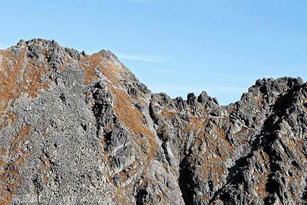 Turysta spad� z Orlej Perci. Pierwszy wypadek w polskich Tatrach w tym roku