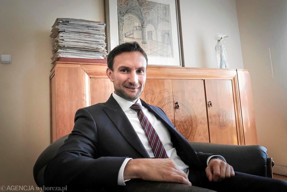 Tomasz Lewandowski - zastępca prezydenta Poznania i kandydat Lewicy na prezydenta Poznania w wyborach samorządowych 2018