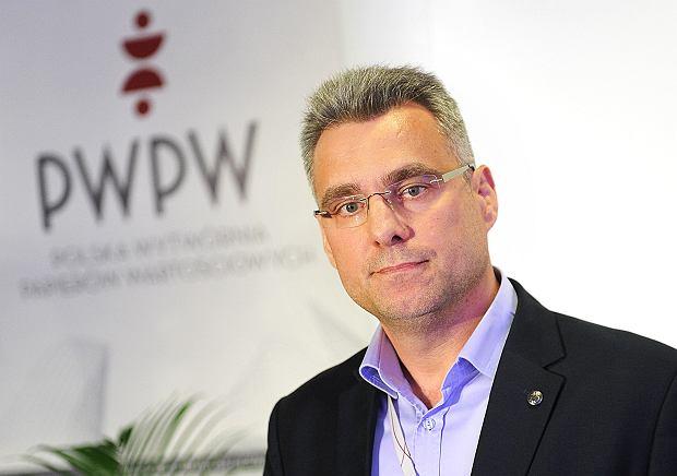 Piotr Woyciechowski, b. prezes Polskiej Wytwórni Papierów Wartościowych