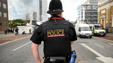 Policja na ulicach Londynu - po zamachach na London Bridge i Borough Market