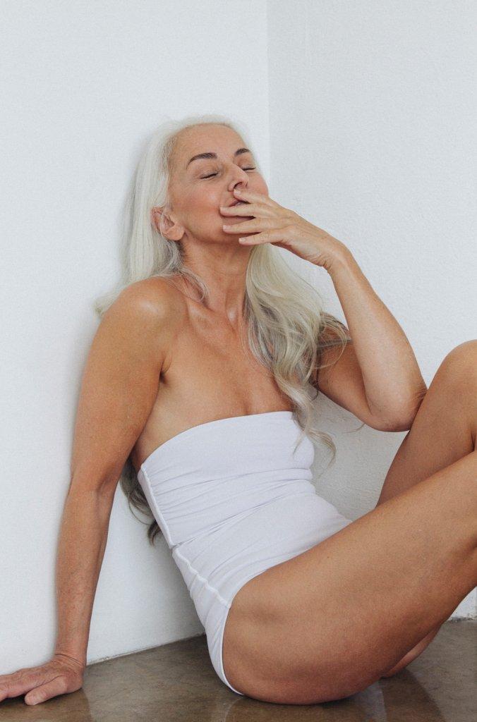 Blonde orgasm during fuck