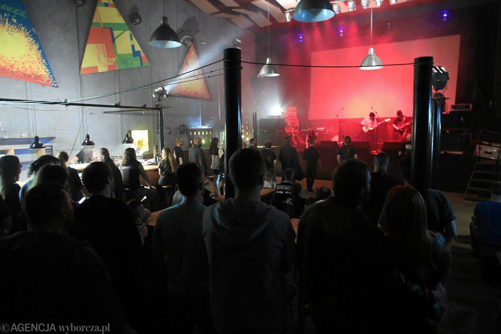 Magnetofon, klub muzyczny w Łodzi przy ul. Zgierskiej. / MARCIN WOJCIECHOWSKI
