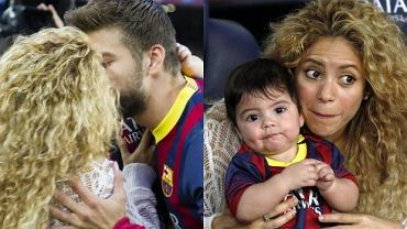 Shakira, Gerard Pique, Milan.