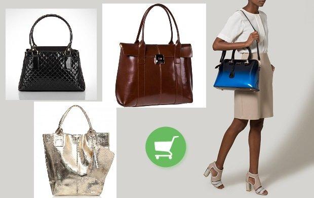 6b4e82ec6426b Lakierowane torby - przegląd ponadczasowych torebek damskich