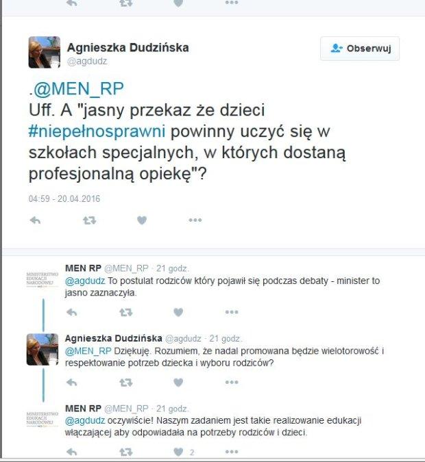 Agnieszka Dudzińska/Twitter