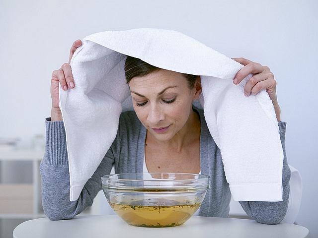 Domowe sposoby na katar - inhalacje