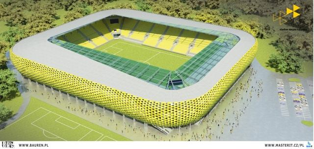 Projekt stadionu GKS-u