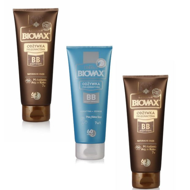 Regeneracja w�os�w w 60 sekund: od�ywki do w�os�w Biovax Beauty Benefit