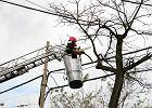Wichury nad Polską - rekordowe liczby interwencji straży pożarnej, uszkodzone budynki, tysiące domów bez prądu