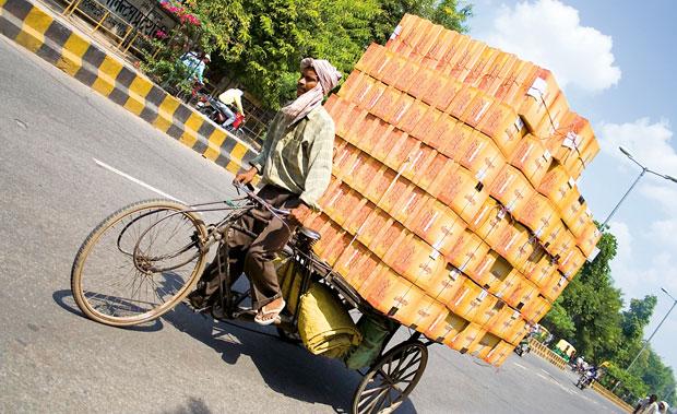 Indie - podróż po Radżasthanie, azja, podróże, Riksza może być osobowa lub ciężarowa