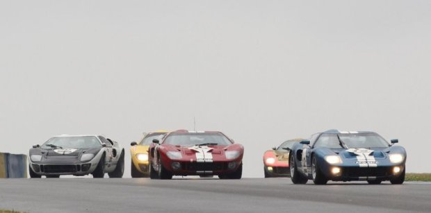 Ford GT40 na Le Mans Classic 2012