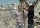 Ice Bucket Challenge w wersji palesty�skiej: gruz zamiast wody i apel o solidarno�� z Gaz�