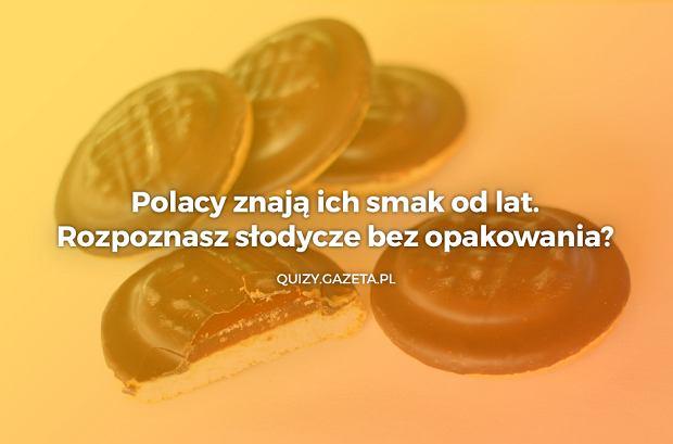 Rozpoznasz słodycze bez opakowania?