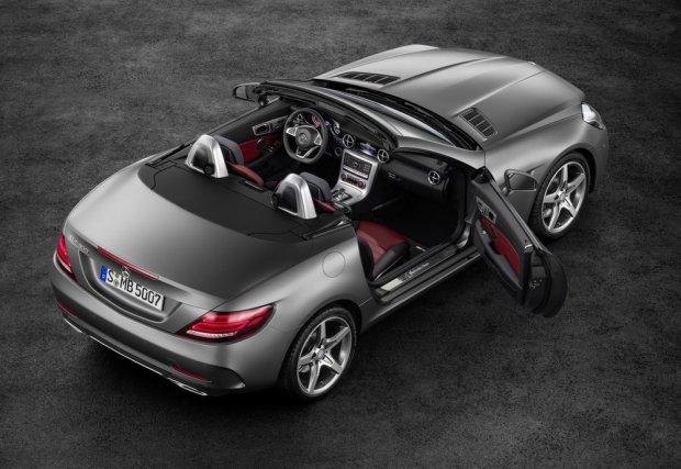 Wideo | Mercedes SLC w akcji