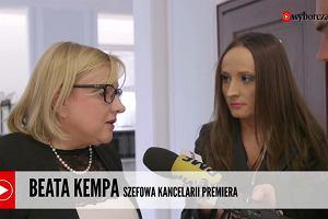 """Beata Kempa: """"Pos�owie pr�buj� uporz�dkowa� sytuacj�. Dyskusja na ten temat i tak musia�aby si� odby�"""""""