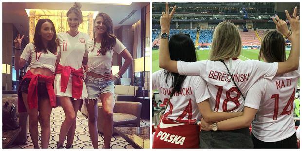 Tak kibicowały polskie WAGs w meczu Polska-Senegal. Na stadionie w Moskwie nowe twarze