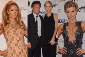 Paris Hilton,  Sean Penn, Charlize Theron, Joanna Krupa.