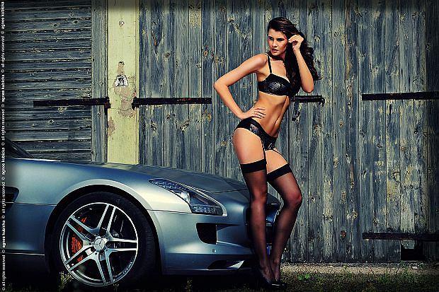 Olga Kamińska | Mercedes SLS AMG