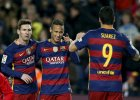 Liga hiszpa�ska. Barcelona przebi�a Real! Tercet MSN rozgromi� Athletic Bilbao