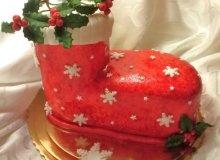 �wi�teczny tort - ugotuj