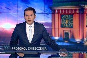 """""""Wiadomo�ci"""" TVP 1 straci�y prawie p� miliona widz�w. 260 tys. tylko w lutym"""