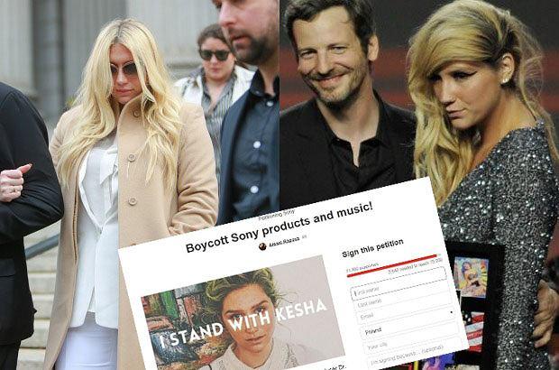 Kesha opuszcza sąd/Kesha i Dr. Luke w 2011 r.