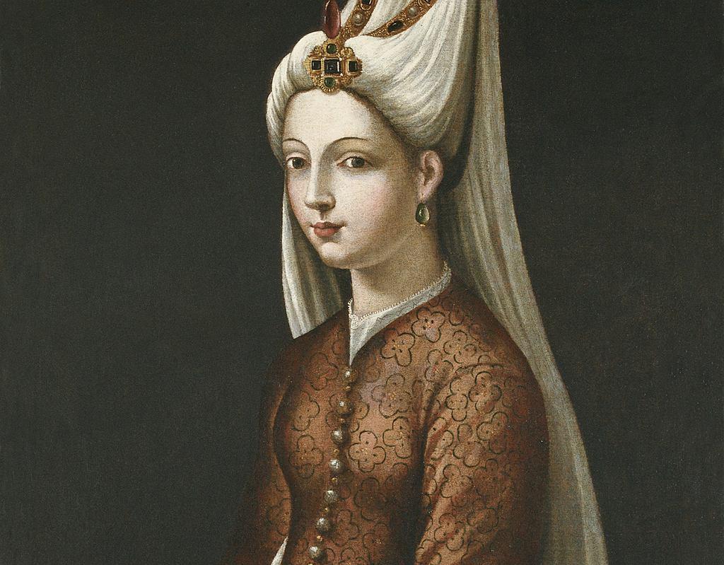 Mihrimah - jedyna córka Roksolany i ulubione dziecko Sulejmana. Zdaniem historyków była jedną z najbardziej wpływowych osmańskich księżniczek (fot. Tiziano Vecellio / Wikimedia.org / Domena publiczna)
