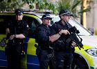 """Wzmożone patrole policji w Manchesterze i innych brytyjskich miastach. """"Sprawca prawdopodobnie nie działał sam"""""""
