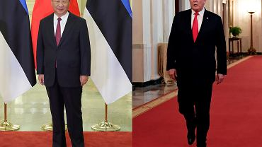 Prezydenci: Chin - Xi Jinping oraz USA - Donald Trump