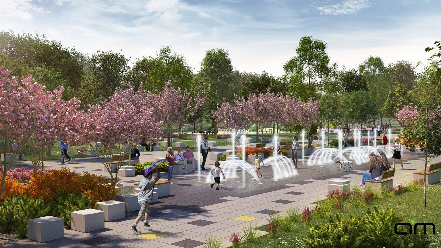 bd9d8907e5 XX wieku parku Zielona została zlecona dąbrowskiej firmie Greta Sport.  Początkowo miasto planowało przeznaczyć na inwestycję prawie 20 mln zł.