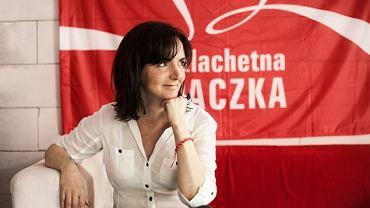 Joanna Sadzik, nowa prezes Stowarzyszenia Wiosna i Szlachetnej Paczki
