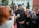 Micheil Saakaszwili: Lech Kaczy�ski by� wielkim Polakiem