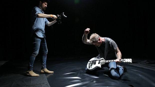 Zdjęcie z klipu Metallici