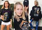 Koncertowy T-shirt to hit wśród blogerek. Jak wykorzystać go na co dzień?