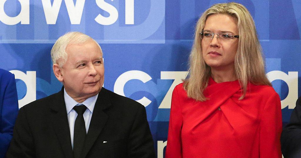Wybory 2018. Jarosław Kaczyński i Małgorzata Wassermann