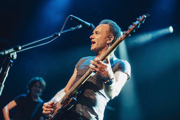 Sting w czasie koncertu w Bataclanie